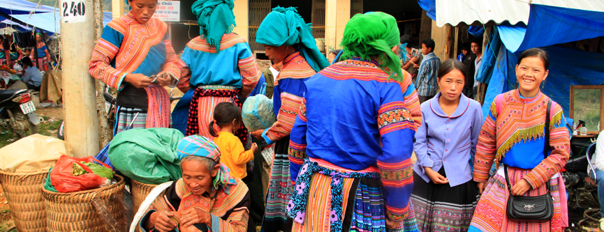 Fascinating Sapa markets