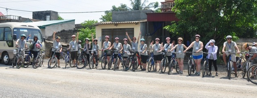 ReCycle 2014 – Cycling and Tree Planting in Ninh Binh, Vietnam