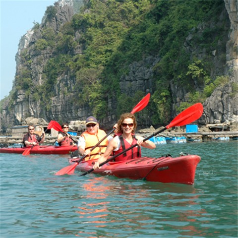 Cruise Ha Long & Bai Tu Long 2 Days