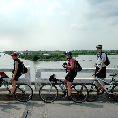 Cycling Mekong 2 Days