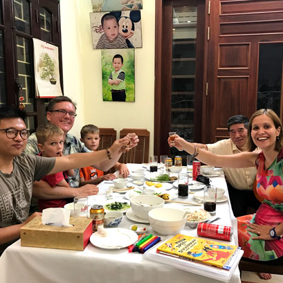 Hue Home Hosted Dinner