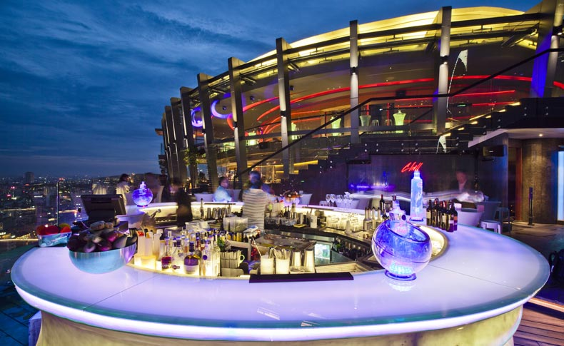 best rooftop bar in Saigon chill sky bar1 - The Best Romance Rooftop Bar in Saigon