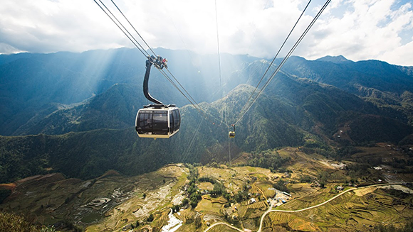 Longest-non-stop-three-rope-cable-car_tcm25-416028 Sapa Has Changed - Practicalities To  Concern